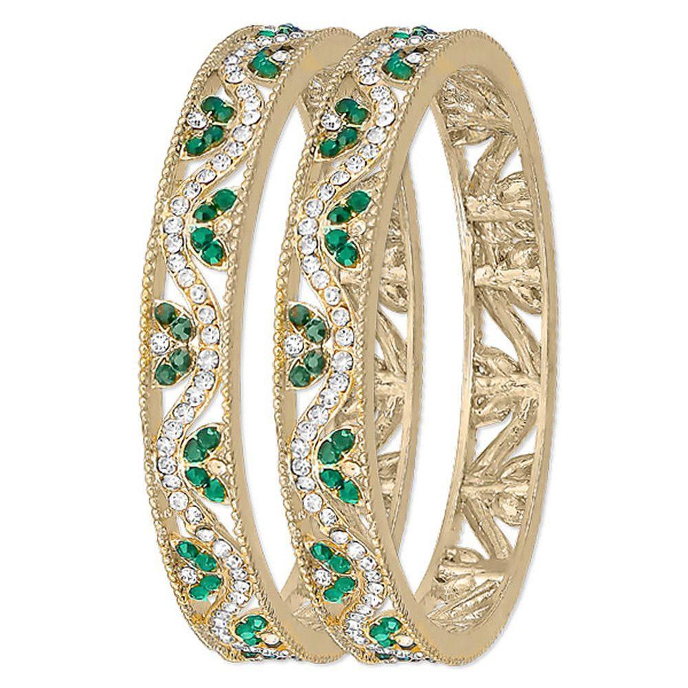 piece bangle mm full eternity waive design fashion bangle k