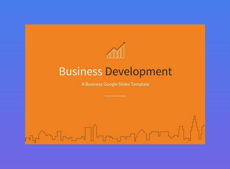 Business Development Google Slides Template Google Slides