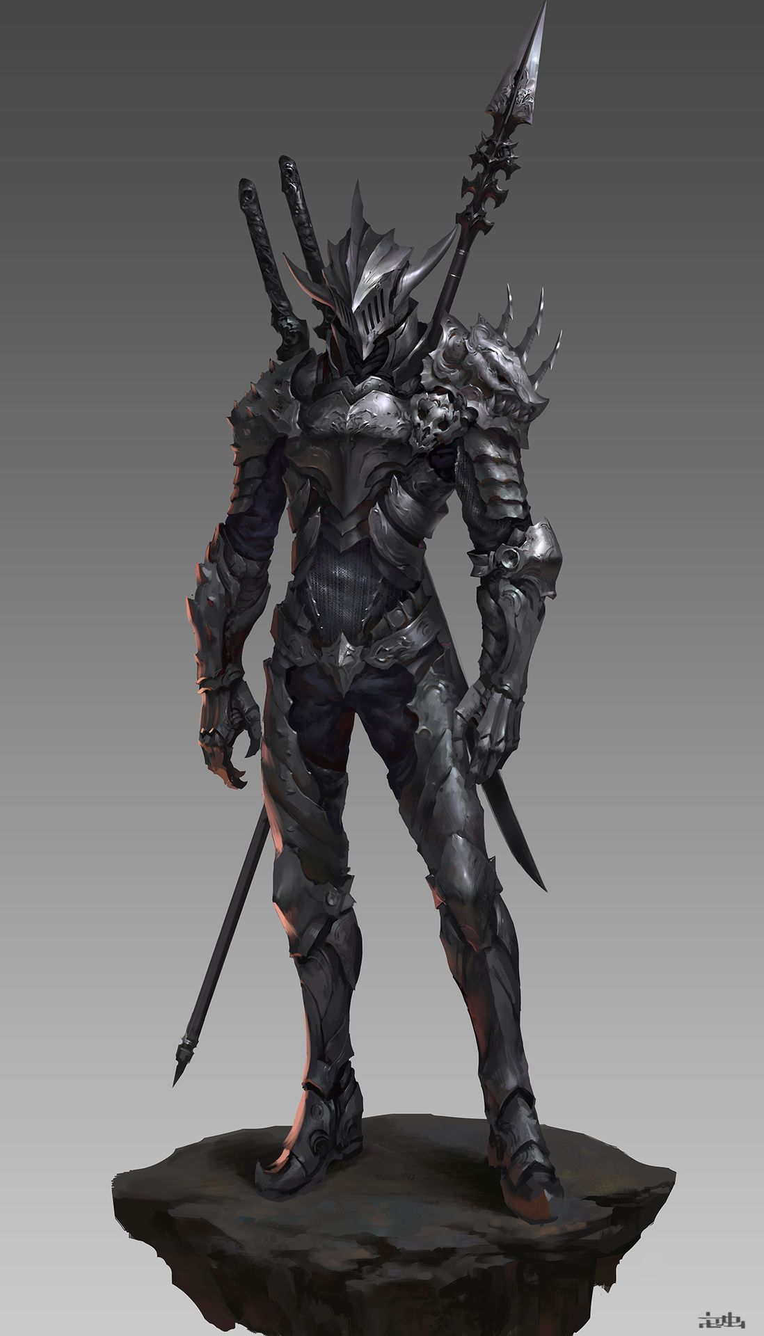 Cyberdelics Fantasy Armor Dragon Armor Fantasy Character Design In order to start the quest (which isn't logged into your quest journal) you need to go to the first edition in the market district and buy the book labeled the black dragon armor. fantasy armor dragon armor fantasy