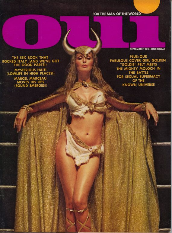 Oui Magazine September 1973 VG Good Readers by JamesVintageJunk