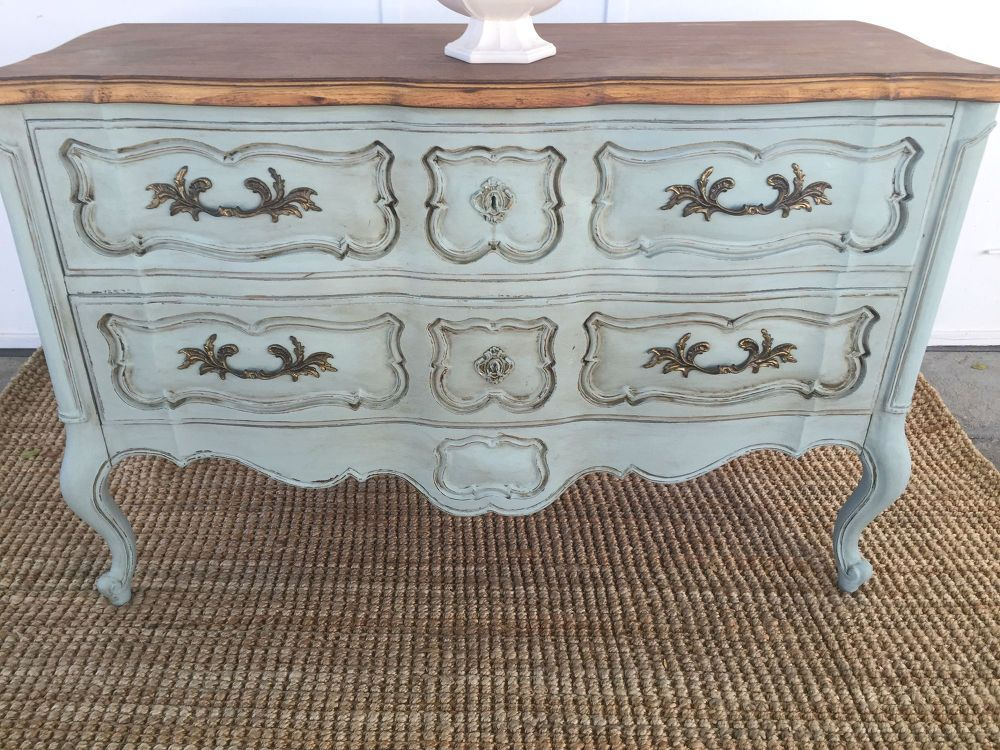 French Provincial Buffet Makeover French provincial