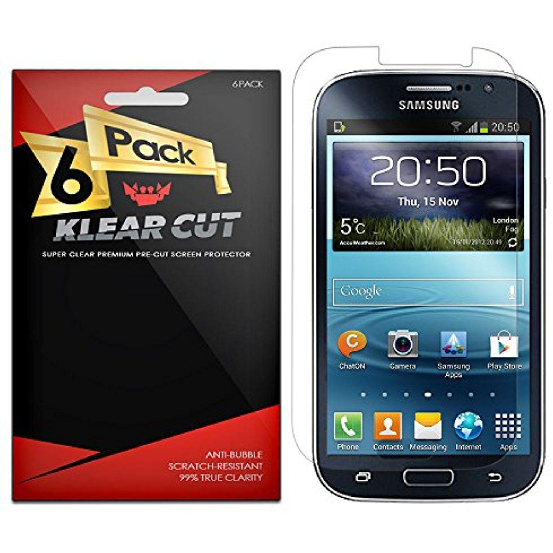 Samsung Galaxy Grand Neo Plus Screen Protector [6 Pack] Klear Cut High Definition Clear Screen Protector for Samsung Galaxy Grand Neo Plus PET