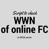 List of commands to check WWN of online FC in HPUX server  Article