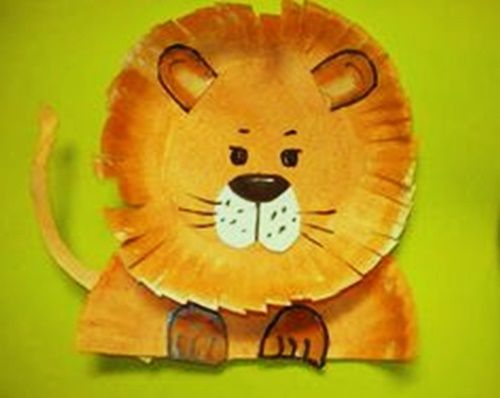 lion-paper-plate-craft.jpg (500×398) & lion-paper-plate-craft.jpg (500×398) | Toddler and kid stuff ...