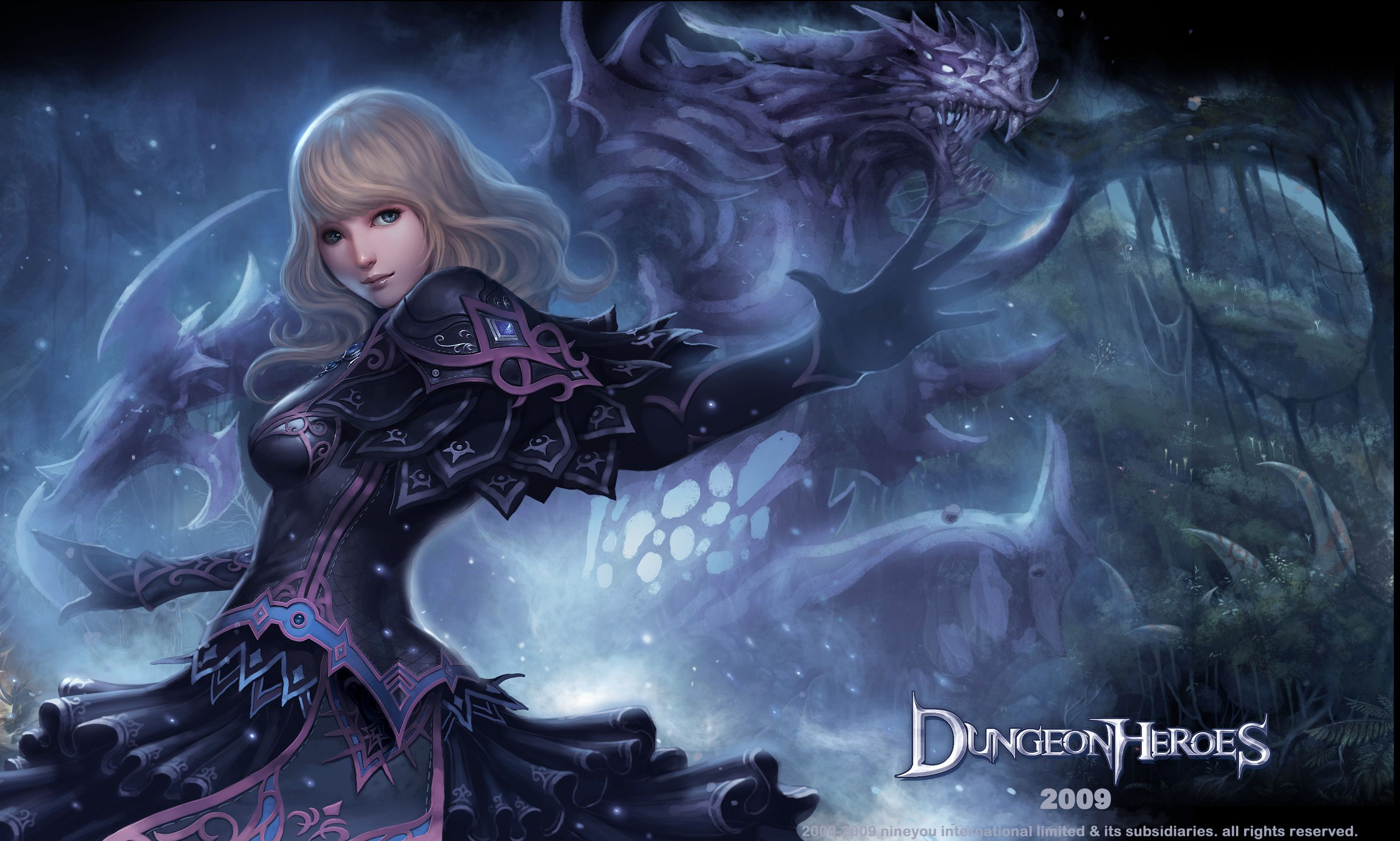 A Female Summoner by ChaoyuanXu.deviantart.com on @deviantART
