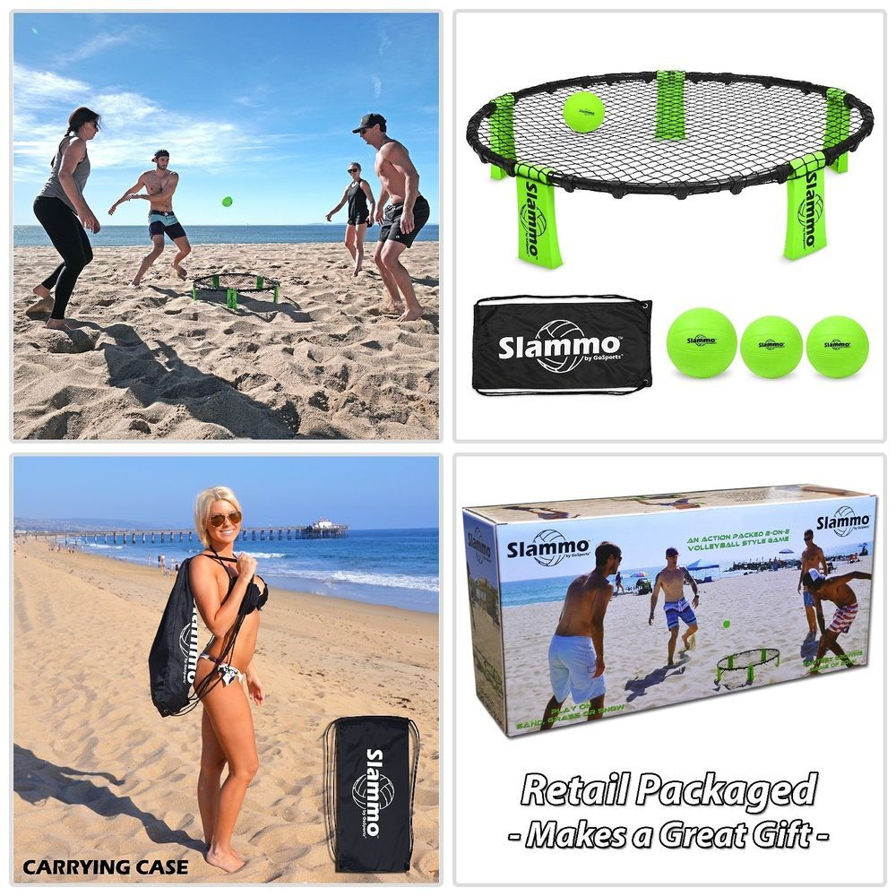 Gosports Slammo Set Includes 3 Carrying Case And Rules Erfly