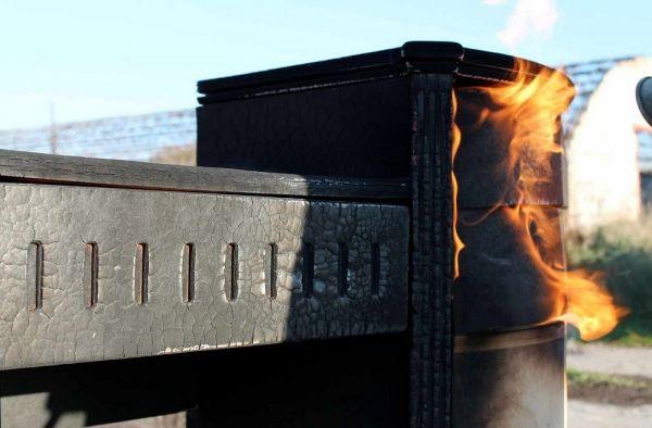 Erstaunliche Designer Möbel aus verbranntem Holz von Yaroslav Galant ...