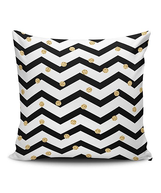 Small Chevrons Throw Pillow Cover