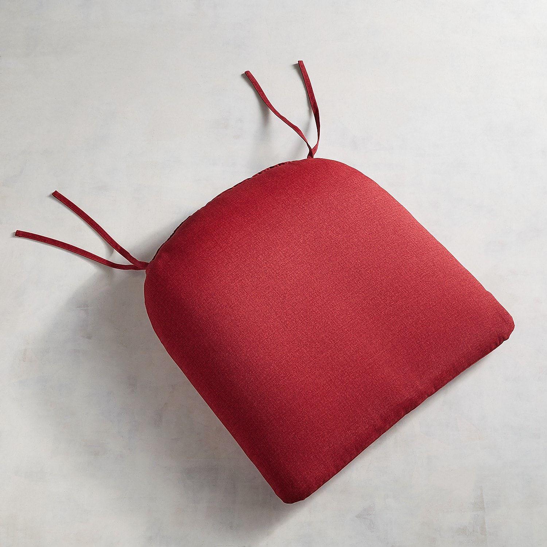 Standard contour chair cushion in terrace brick contours