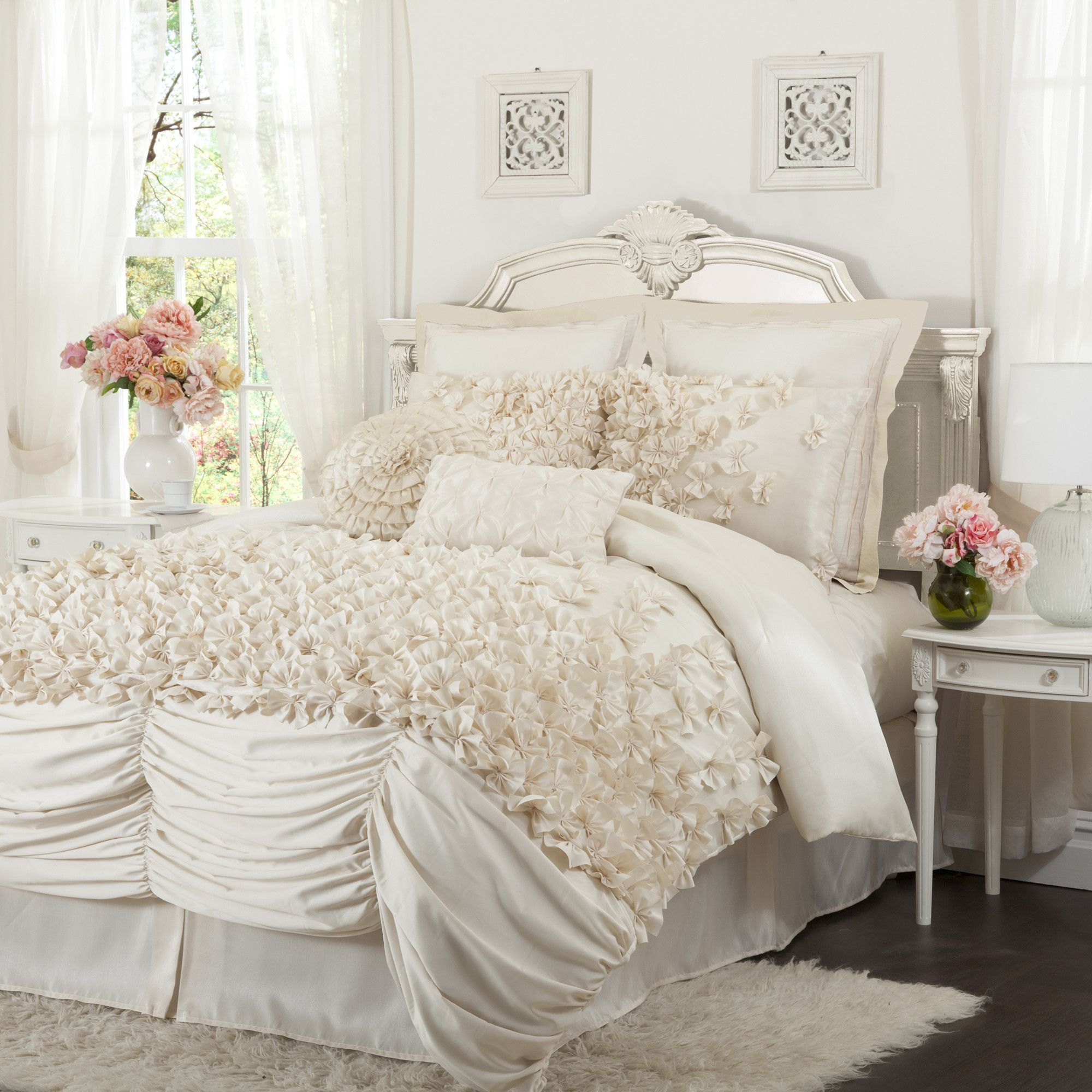 lucia comforter 4 piece set duvet bedrooms and flats