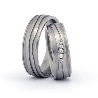 Titanringe Hochzeitsringe Eheringe aus Titan Trauringe
