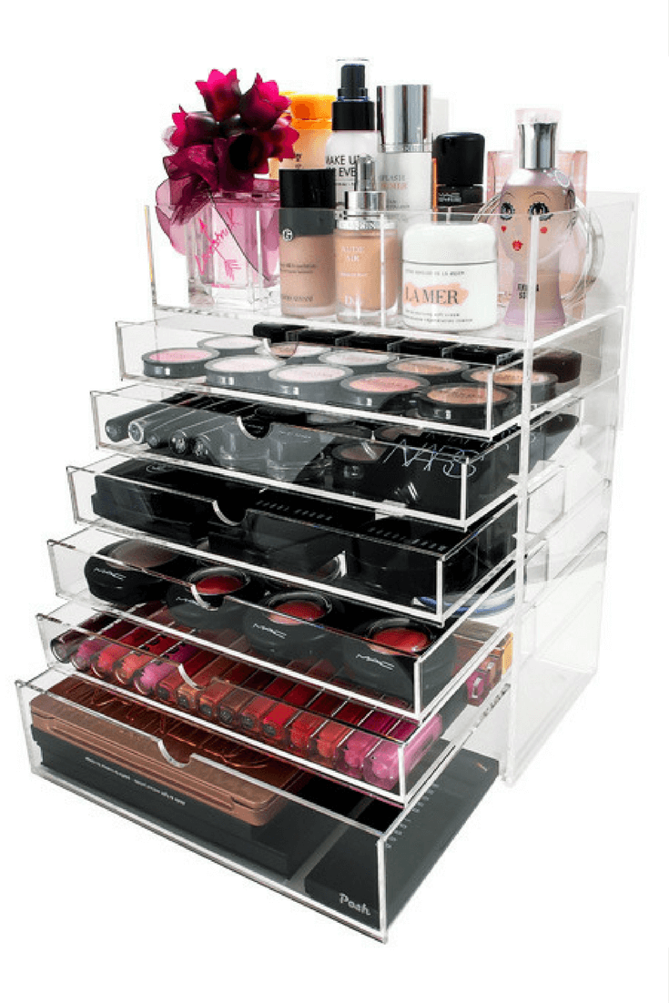 How to organize your makeup using acrylic makeup organizers. Makeup storage made easy. //thepatranilaproject.com/how-to-organize-makeup-collection/  sc 1 st  Pinterest & How To Organize Makeup for Frustration-Free Mornings | Acrylic ...