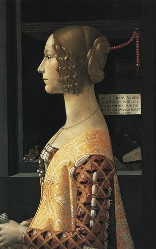 Domenico Ghirlandaio (Florence 1449-1494) - Portrait of Giovanna Tornabuoni 1488