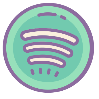 Spotify Icons In Cute Color Style For Graphic Design And User Interfaces In 2020 Iphone Icon Ios App Icon App Icon