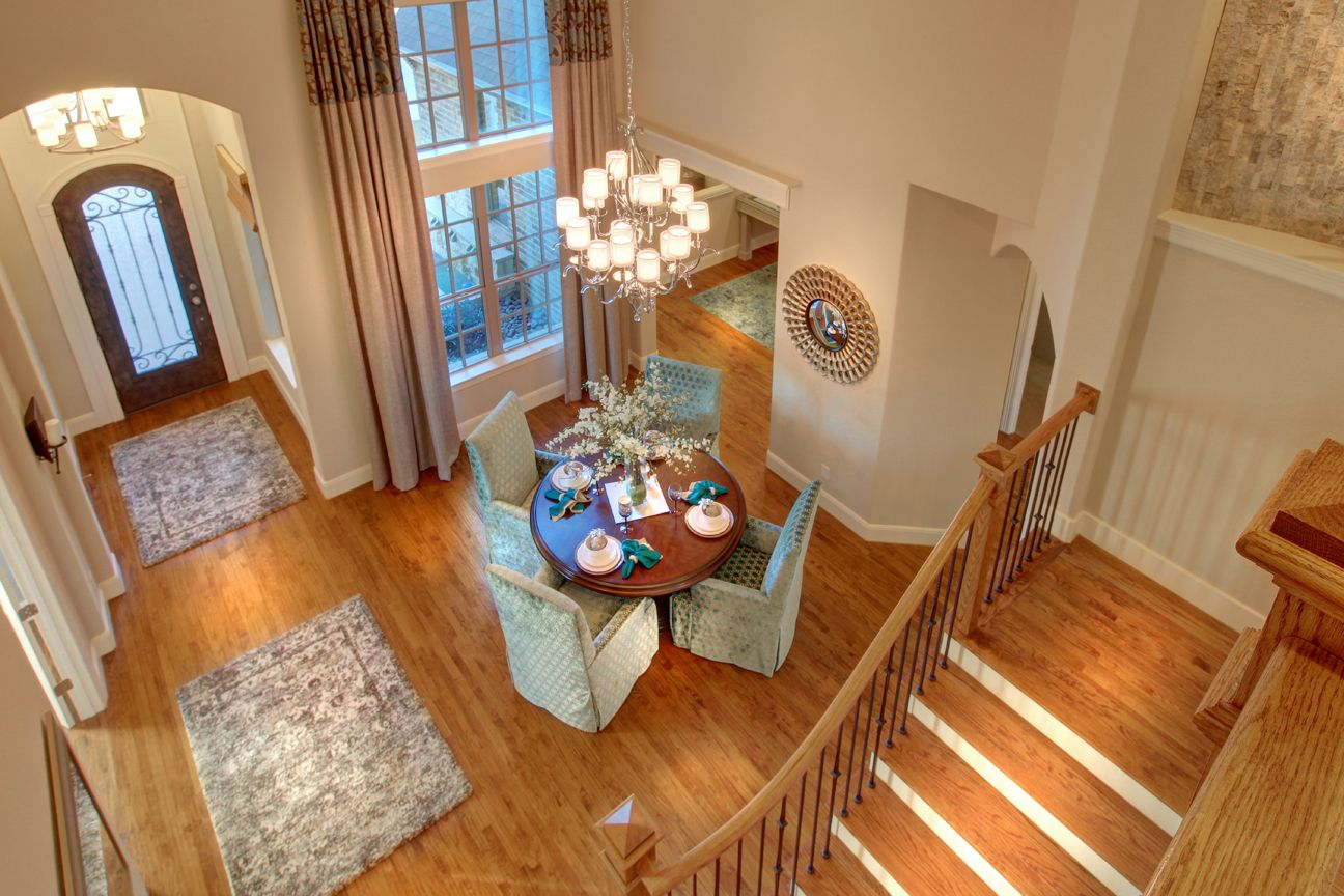 Lakeside DFW model home in Flower Mound, Texas upstairs