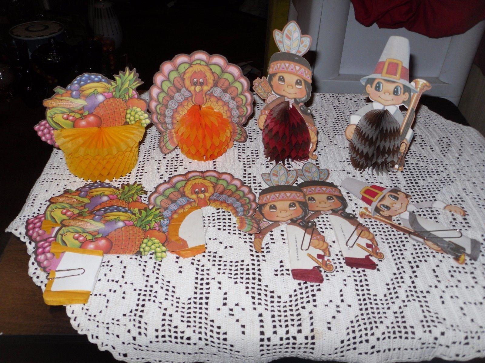 Beistle Thanksgiving Decorations