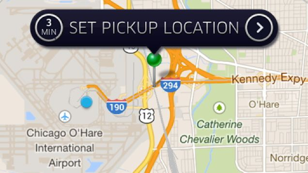 Change Your Location To Bypass Uber And Lyft S Pickup Ban At Airports Your Location Norridge You Changed
