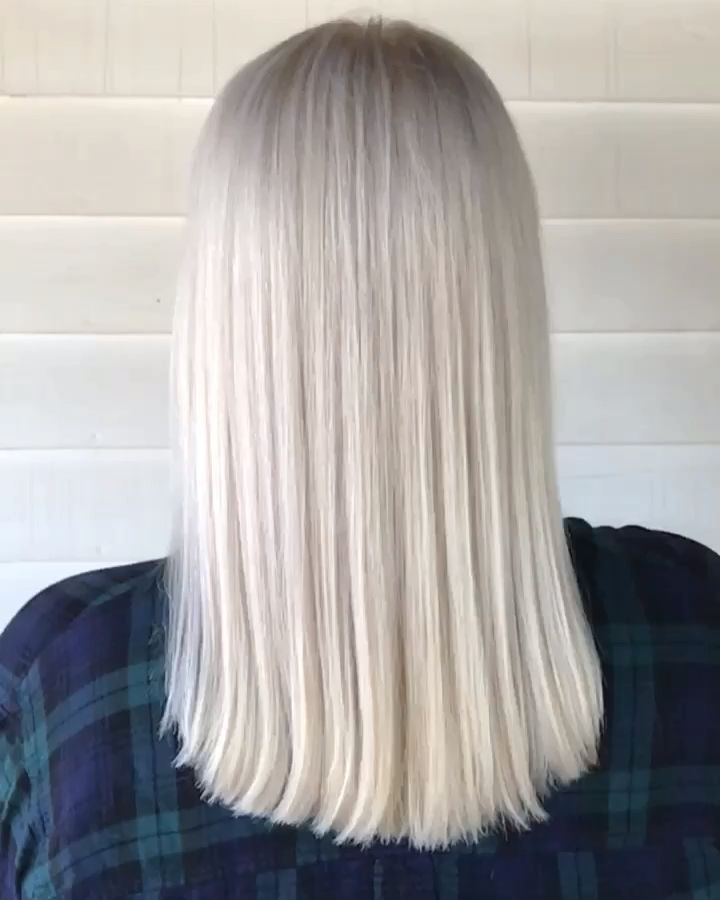 NORDIC WHITE PERFECTLY PLATINUM BLONDE HAIR