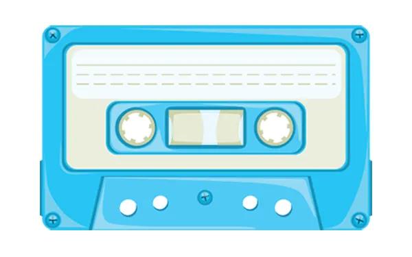 Free Cassette Tape Vector Image Cassette Tapes Cassette Vector Free