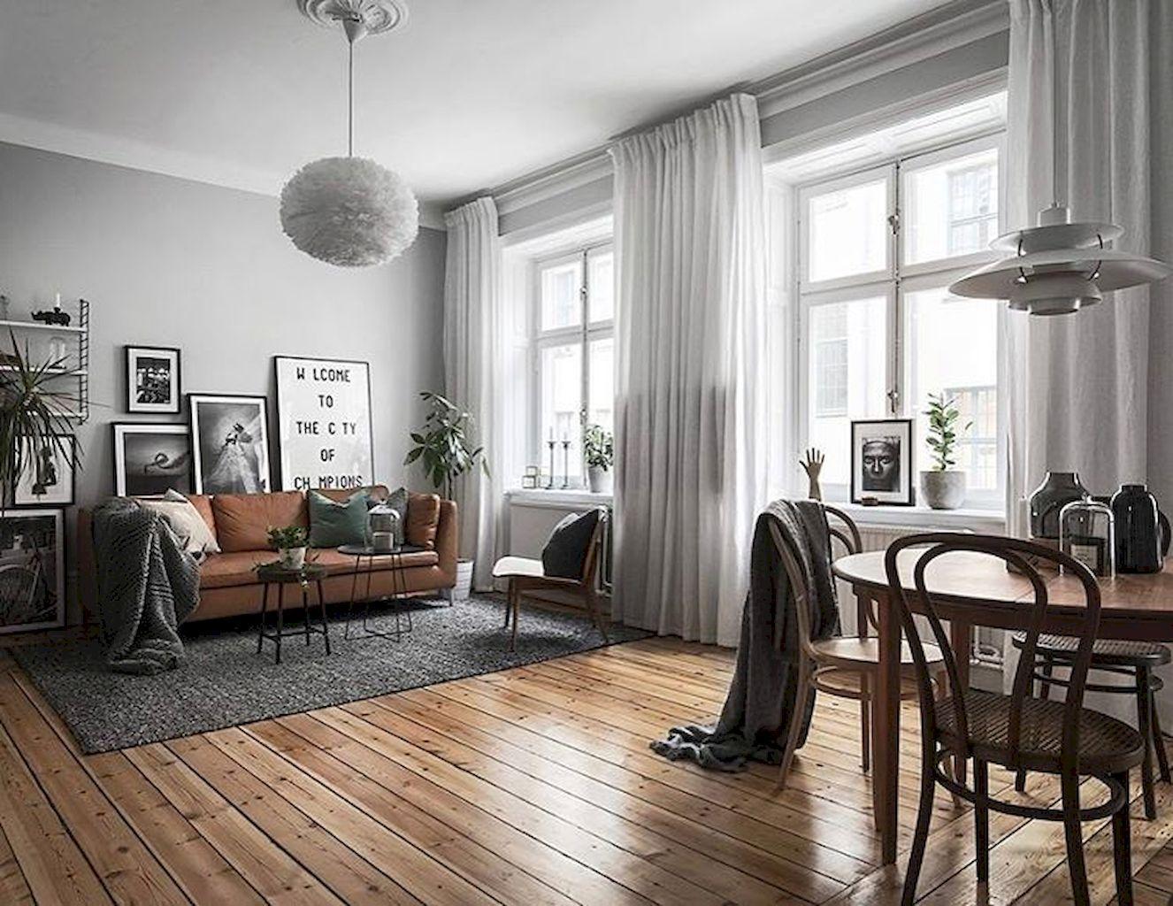 90 Best Scandinavian Living Room Design Homekover Scandinavian Design Living Room Living Room Scandinavian Modern Apartment Living Room