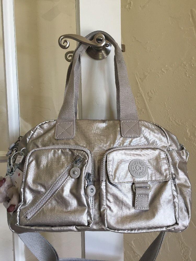 0a7f1f3514 Kipling Defea, Kipling Handbags, Shoulder Handbags, Convertible, Snake,  Metallic, Monogram