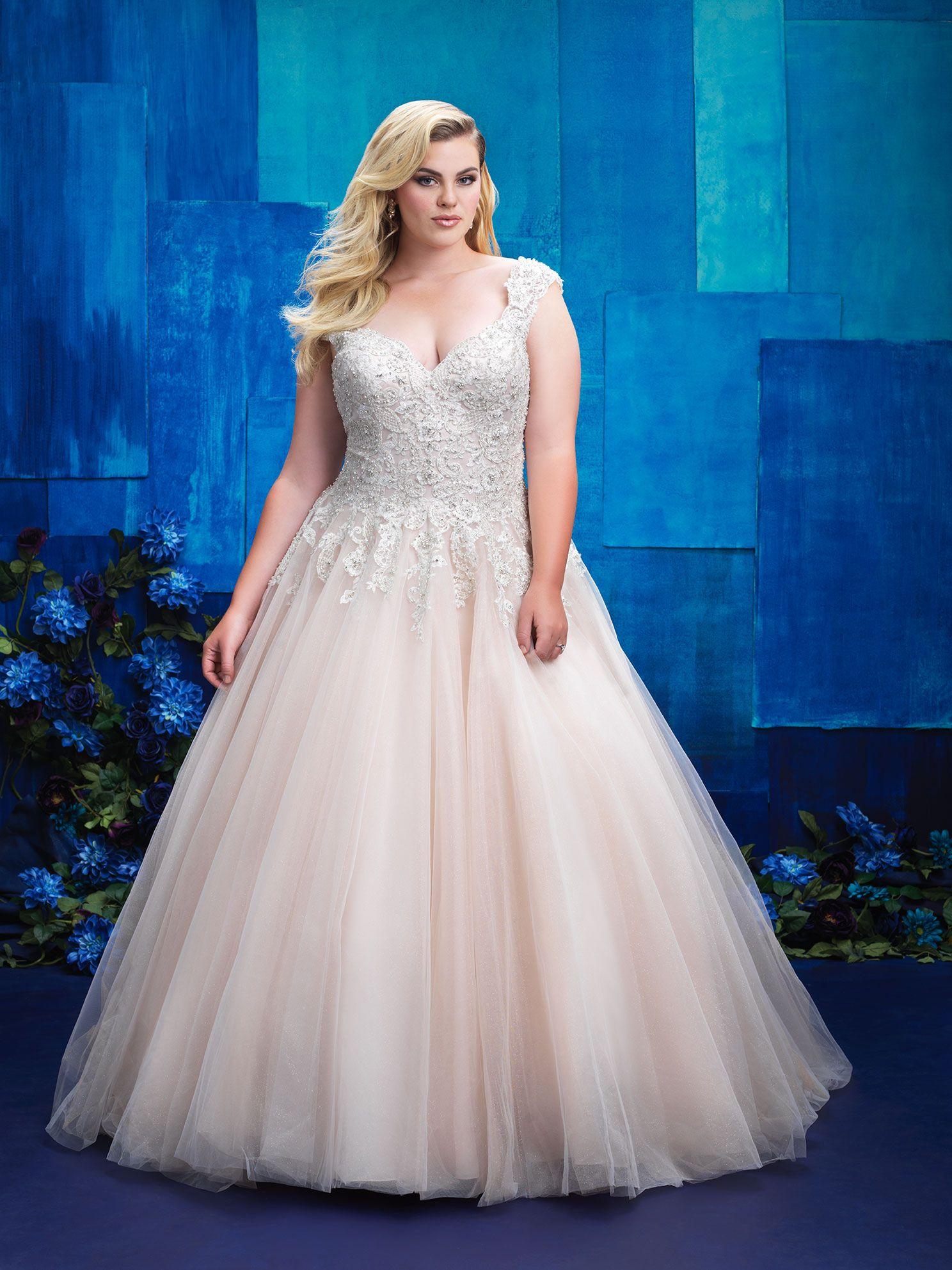 Thumbnail Wedding Dresses Plus Size Plus Size Wedding Gowns Wedding Dress Store [ 1985 x 1488 Pixel ]
