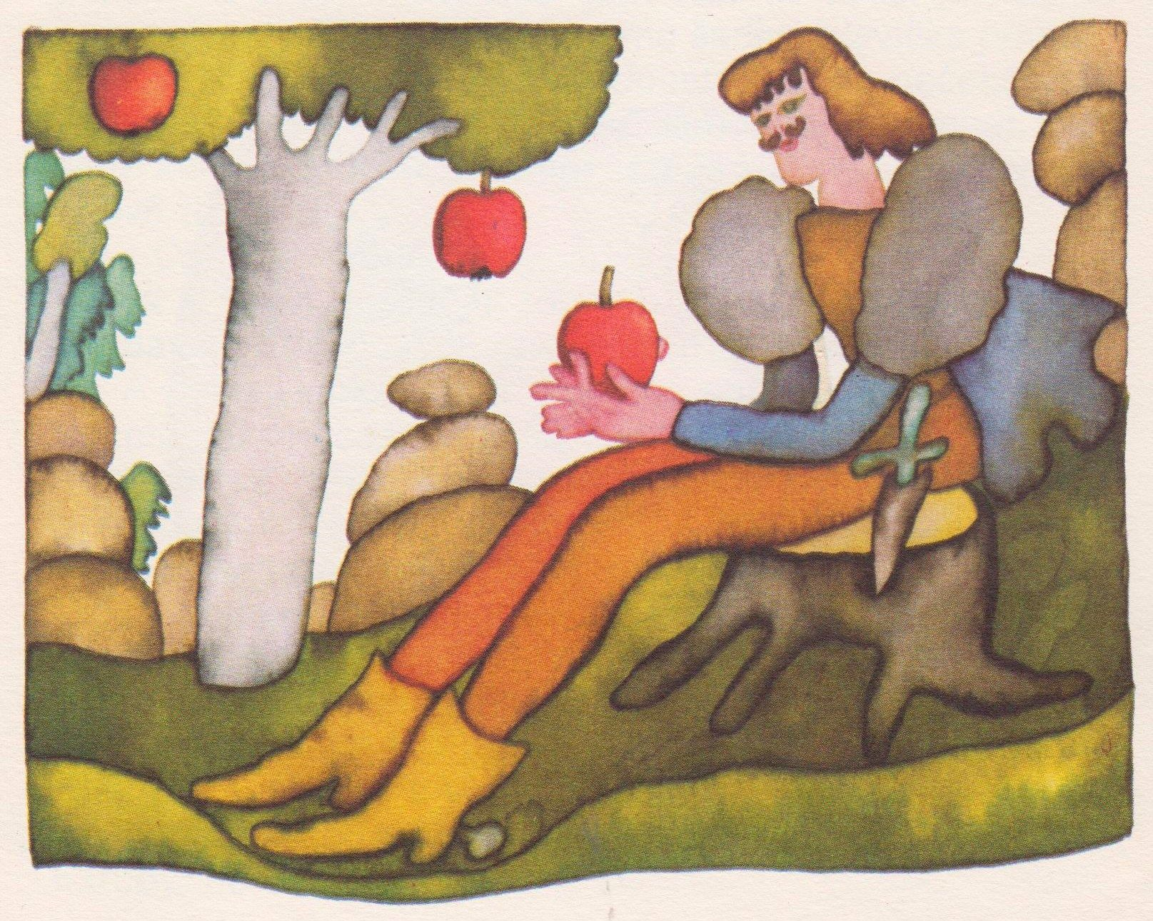 The Apple Maiden or Apple Tree Maid is known as Jabloňová Panna in Czech It