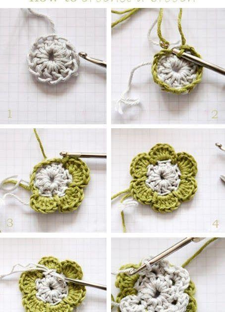 epipa: DIY - eine Blüte häkeln … | Handarbe…