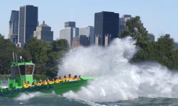 Jet-boating on the Lachine Rapids- LaSalle, QC.