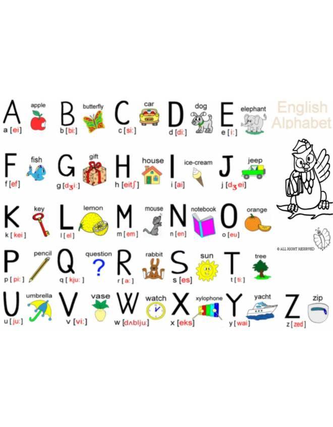 Disegni Da Colorare E Stampare In Inglese.Disegno Alfabeto Inglese Completo Disegni Da Colorare E Stampare Gratis Per Bambini Puoi Stampare Scaricare Il Disegno Alfabeto Stampe Per Bambini Inglese