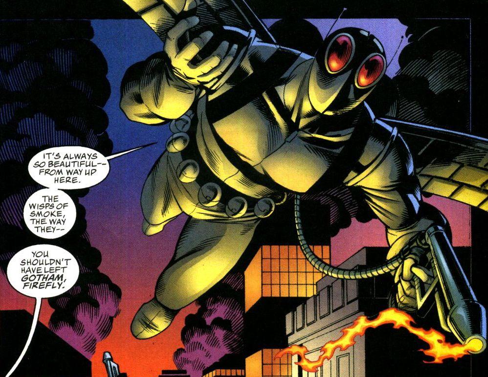 Firefly Dc Comics Firefly Dc Comic Villains Villain