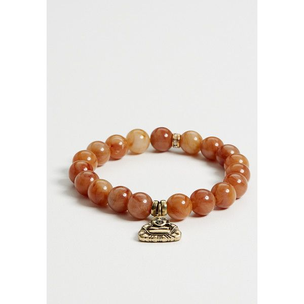 maurices Success Power Bead Bracelet ($8.50) ❤ liked on Polyvore featuring jewelry, bracelets, gold, bracelet bangle, bracelet bead charms, beaded jewelry, maurices and beads & charms