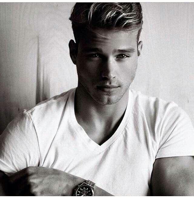 Matthew Noszka   Blonde male models, Beautiful men faces ...