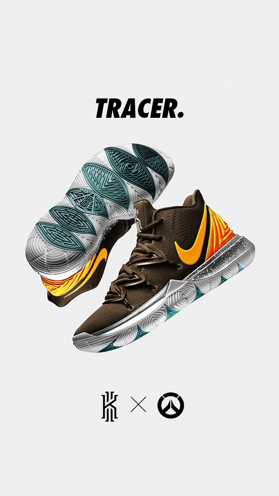 6a3b084057a0 Nike Kyrie 5 X Overwatch Concepts on Behance