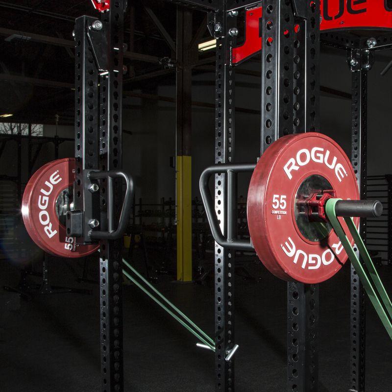 Monster lever arms squat rack diy home gym pull up bar