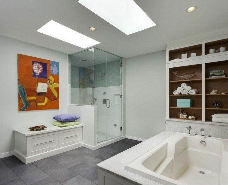Banc salle de bain un petit meuble avantageux et distingué