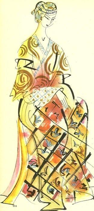 costume design for carlo gozzi s turandot c 50s 60s by ladislav b czech artist