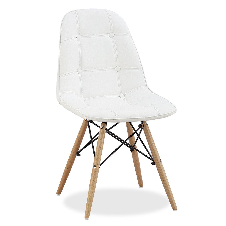 Inspiriert von dem Stuhl DSW von Charles & Ray Eames Die Struktur der Stuhlbeine ähnelt