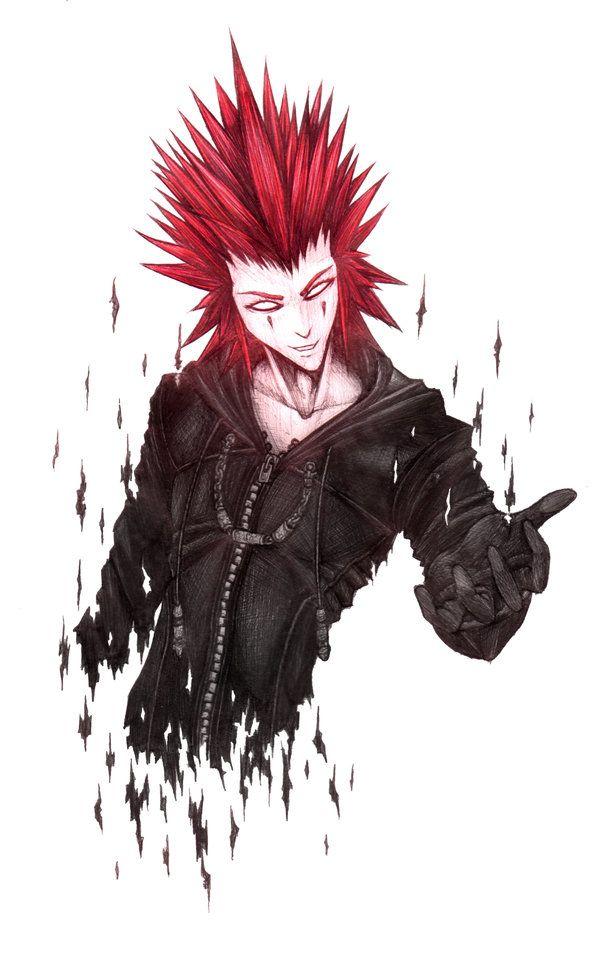 Kingdom Hearts Ii Axel By Krimsonbloodwork On Deviantart Kingdom Hearts Ii Kingdom Hearts Axel Kingdom Hearts