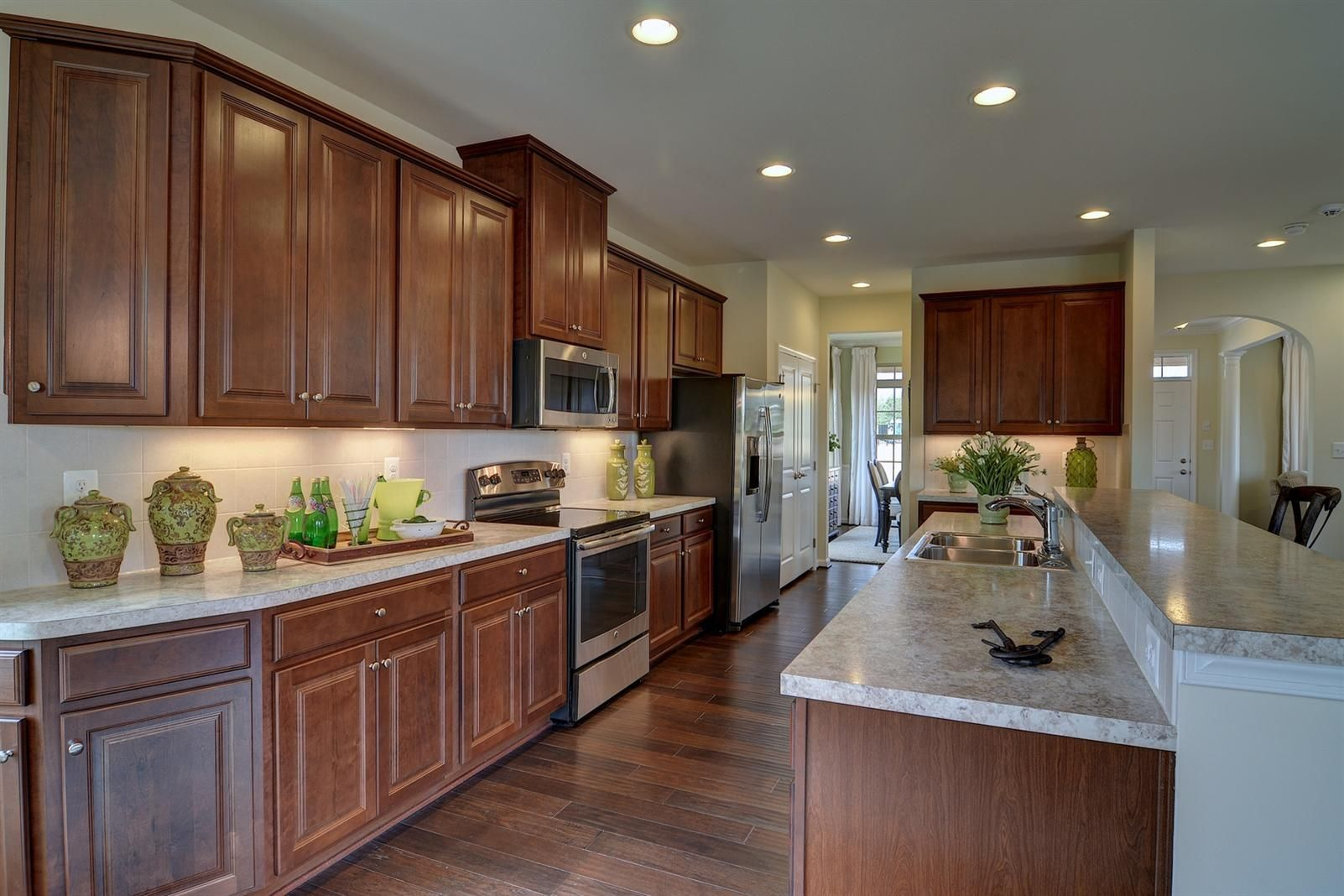 New John Steinbeck Home Model For Sale Nvhomes Home Kitchens