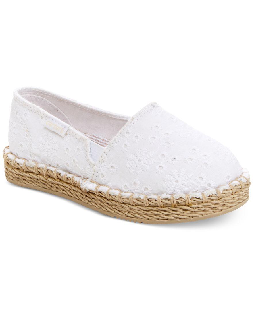 Floral espadrilles, Girls shoes