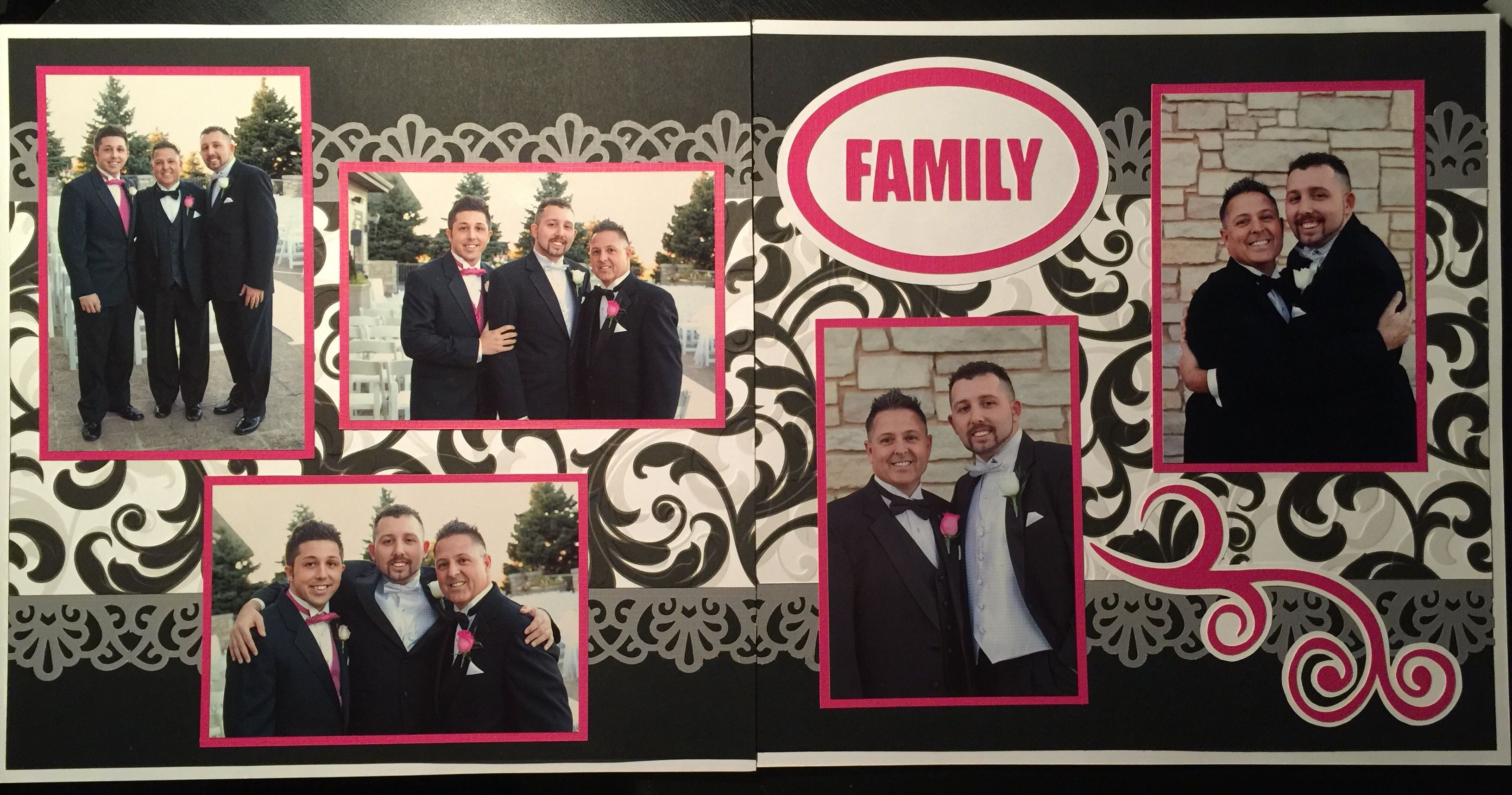 Groom Family Scrapbook Love Layouts Pinterest