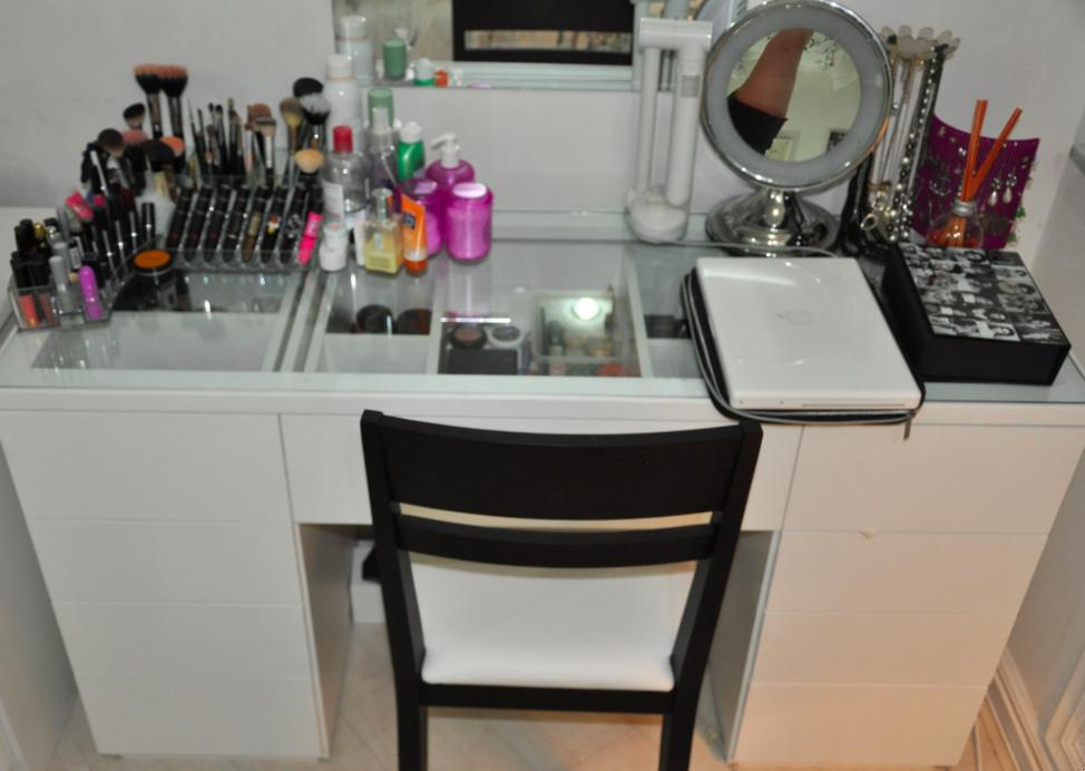 Beleza Moda Make-up: Penteadeira dos sonhos