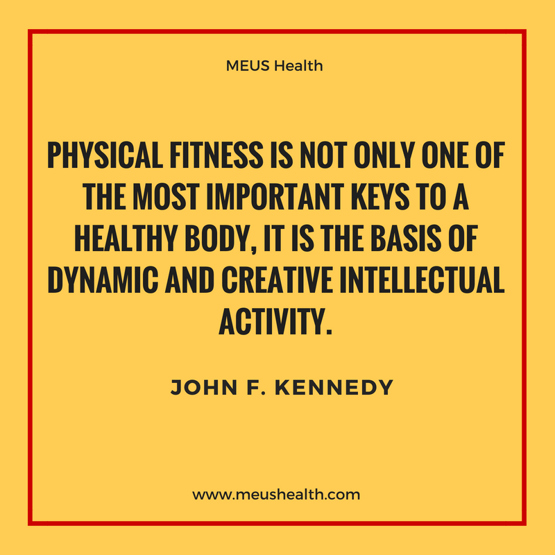 Physical fitness is not only one of the most important keys