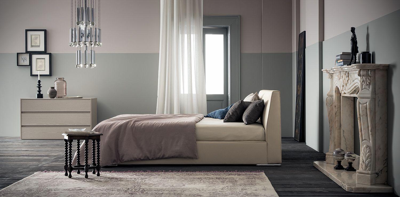 Happy letto bed letto imbottito padded bed Arredamento
