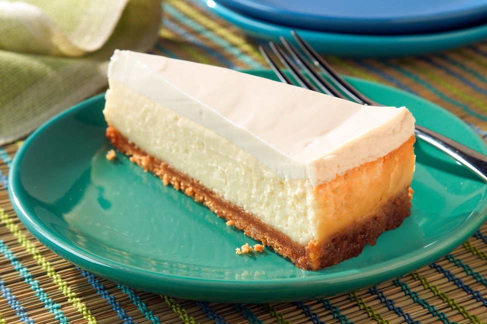 Cheesecake With Sour Cream Topping Recipe Sour Cream Cheesecake Kraft Recipes Sour Cream Recipes