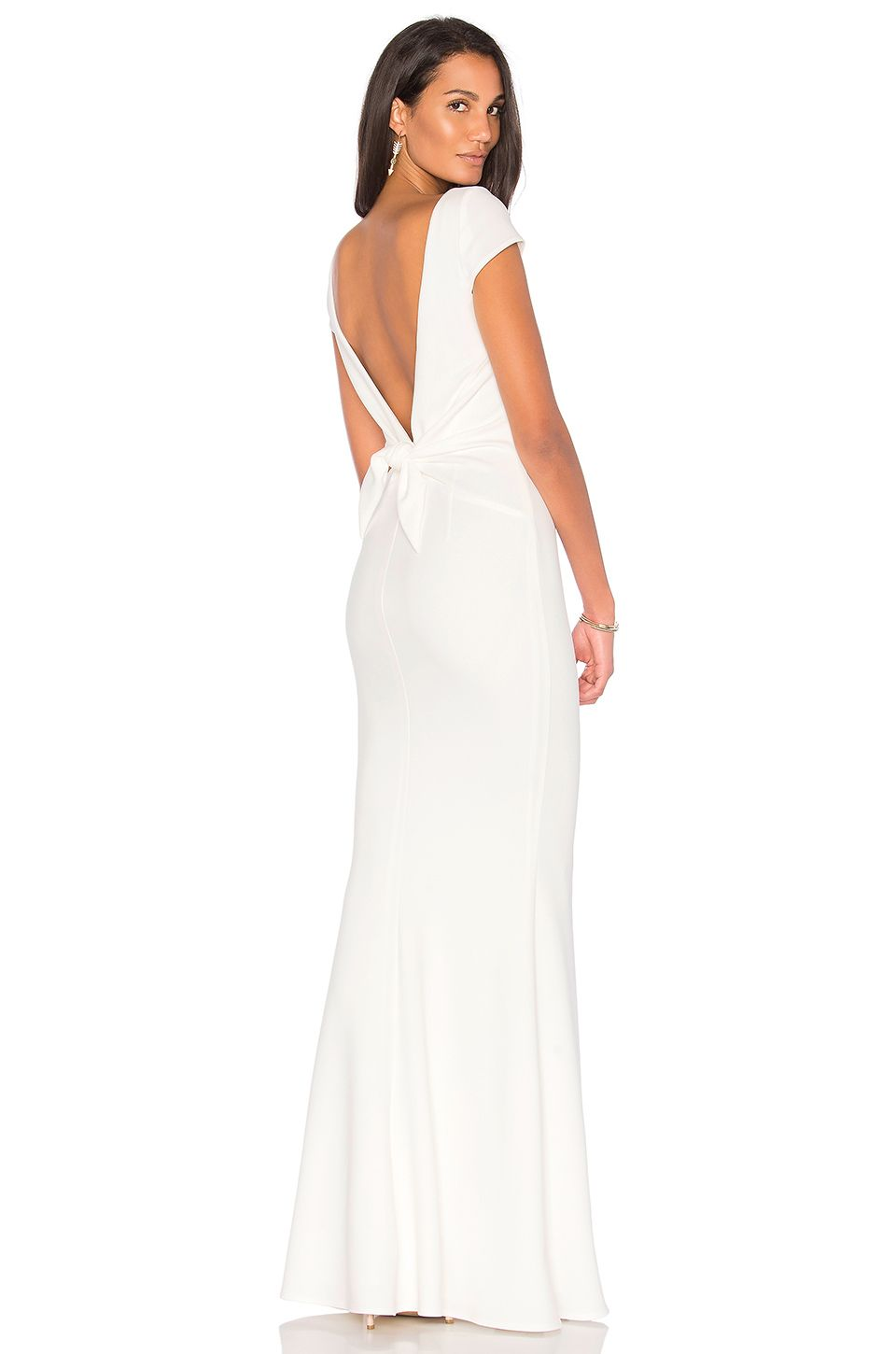 Katie may intrigue gown in ivory revolve ivory