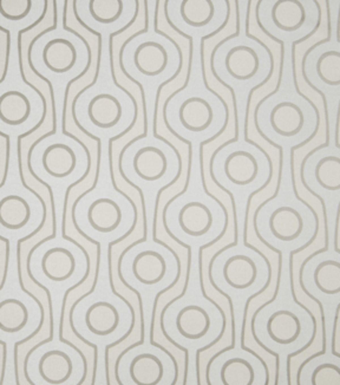 Home Decor Print Fabric-Eaton Square Continental-Grey GeometricHome Decor Print…