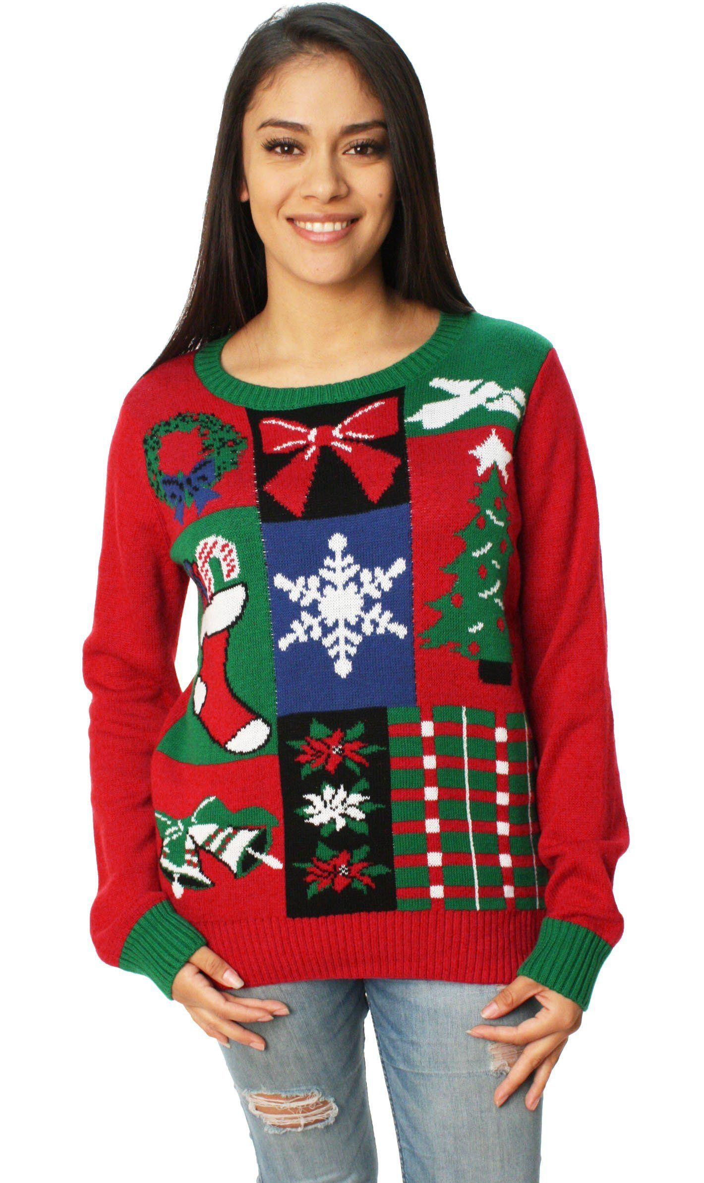 Ugly Christmas Sweater Womens Christmas Spirit Sweater Products