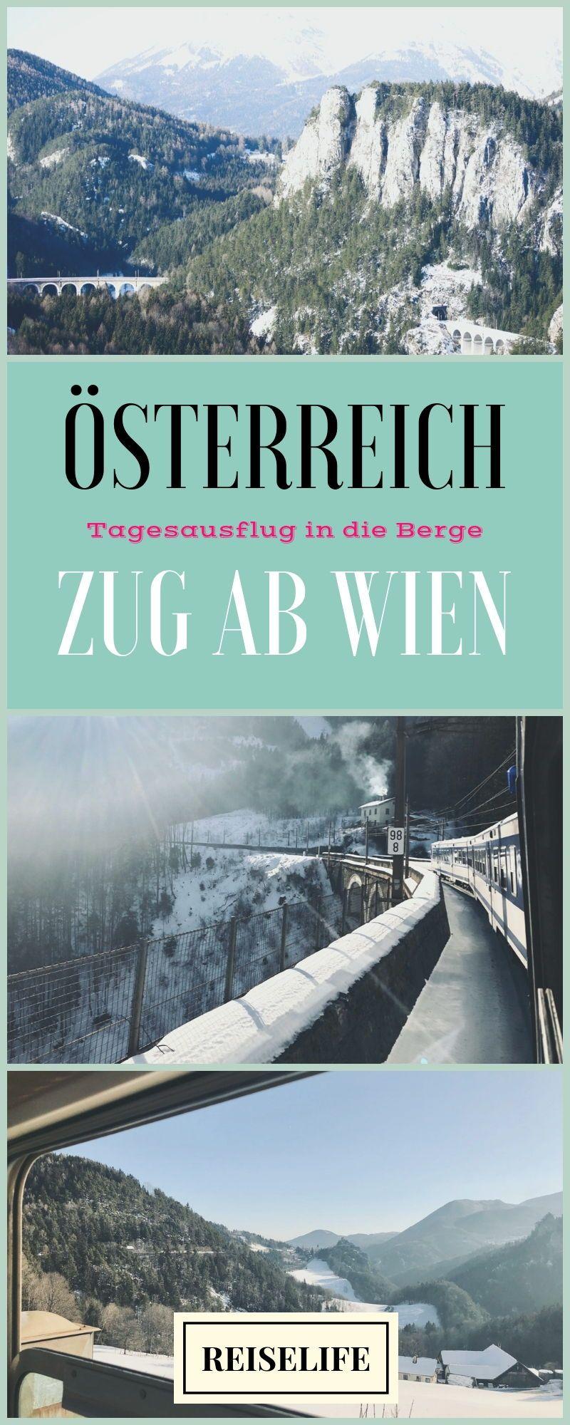 Unterwegs Mit Der Semmeringbahn Ausflugstipp Wien Reiselife Ausflug Gunstig Urlaub Buchen Reisen